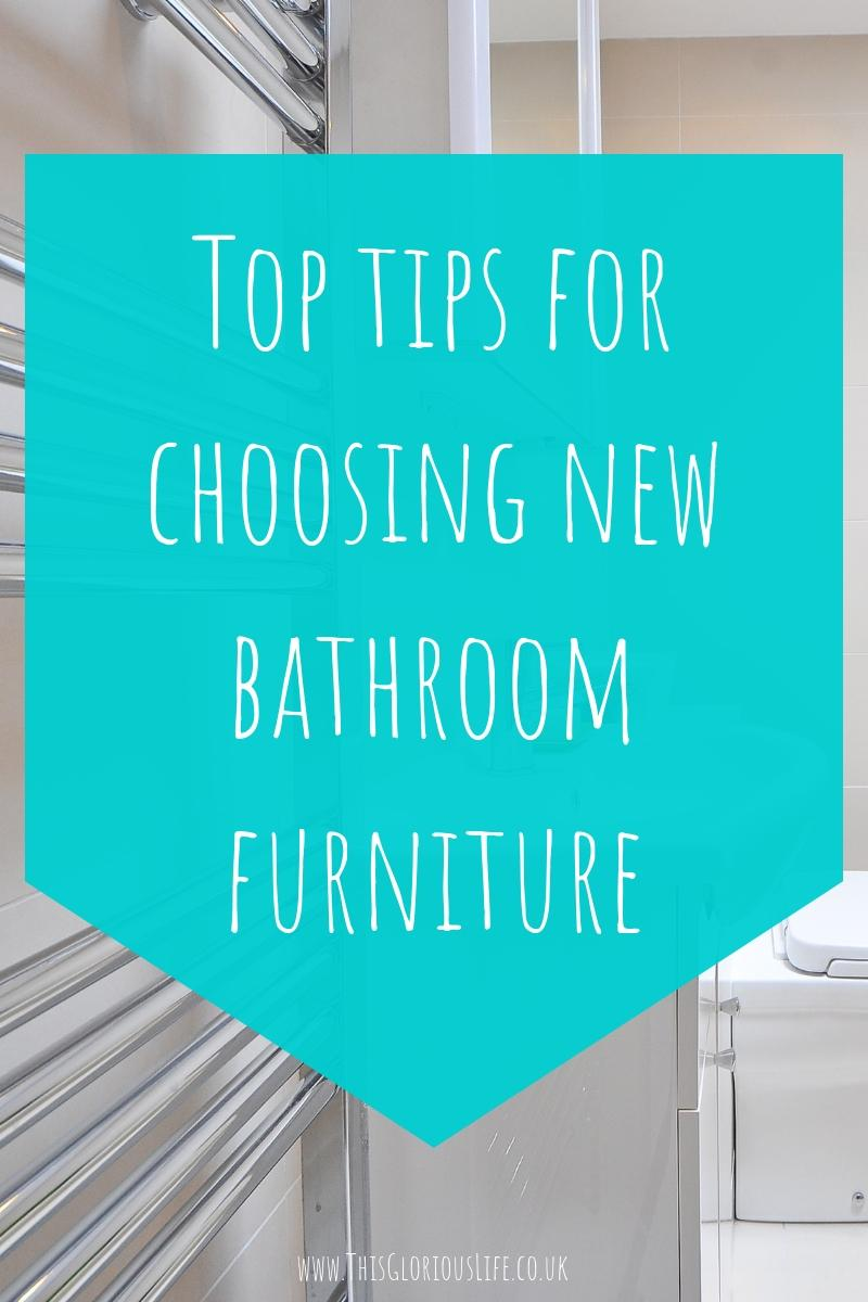 Top tips for choosing new bathroom furniture
