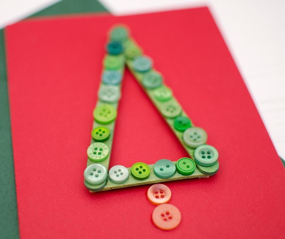 easy fun christmas tree card