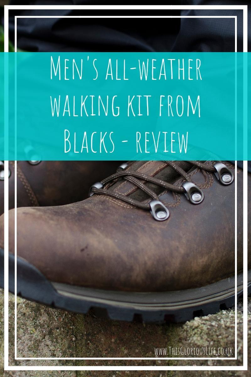 men's all weather walking kit from Blacks