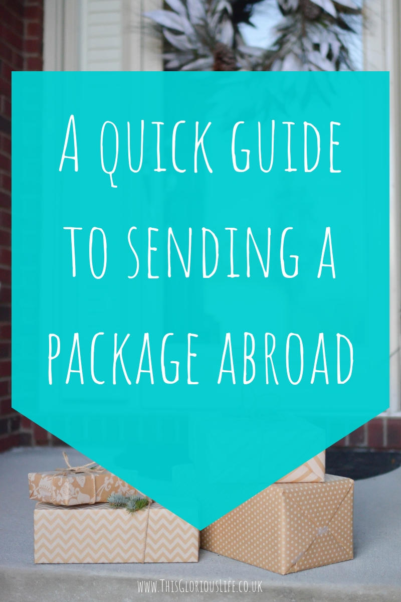 A quick guide to sending a package abroad