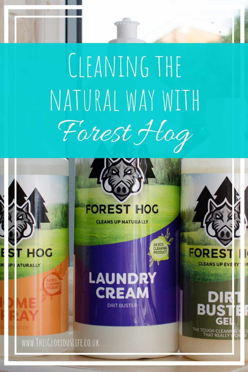 Cleaning the natural way with forest hog