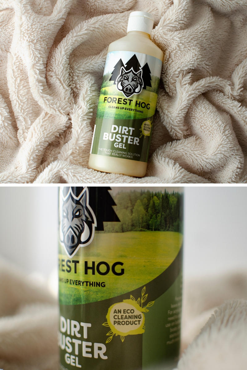Forest Hog dirt buster gel