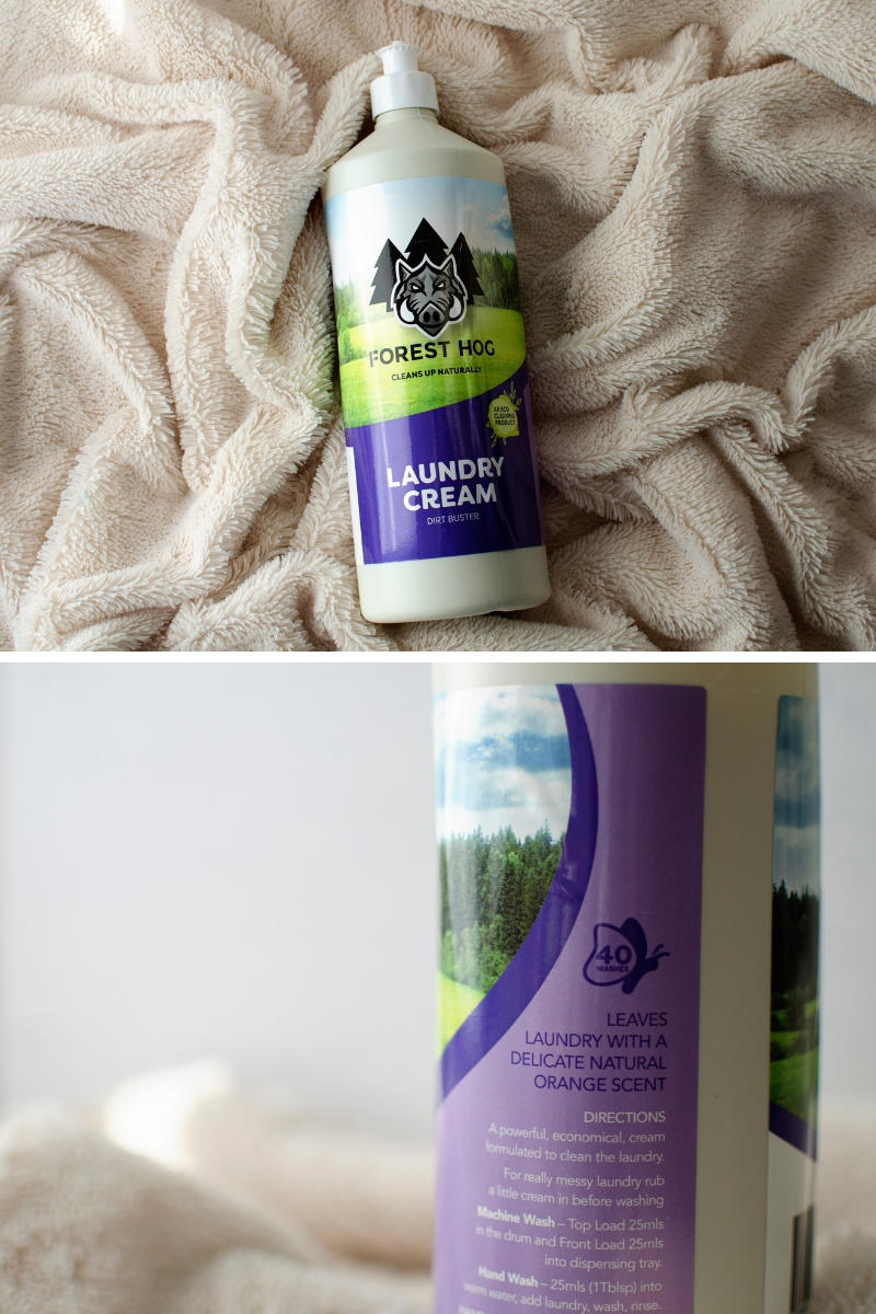 Forest Hog laundry cream