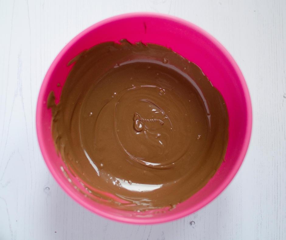 Merlyn irish cream chocolate truffles melted ingredients