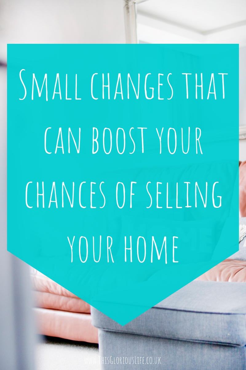 Small changes that can boost your chances of selling your home