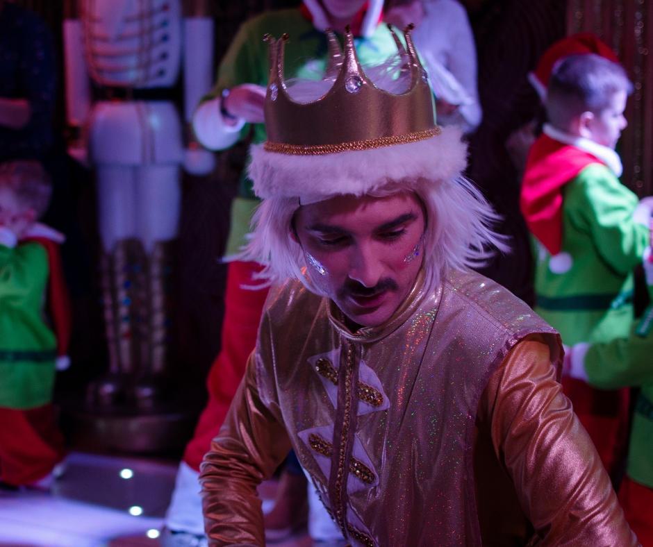 Snow ball King Bluestone Kingdom of the elves