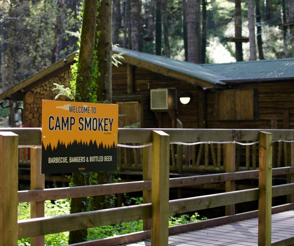 Bluestone camp smokey