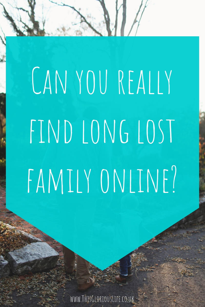 Can you really find long lost family online_