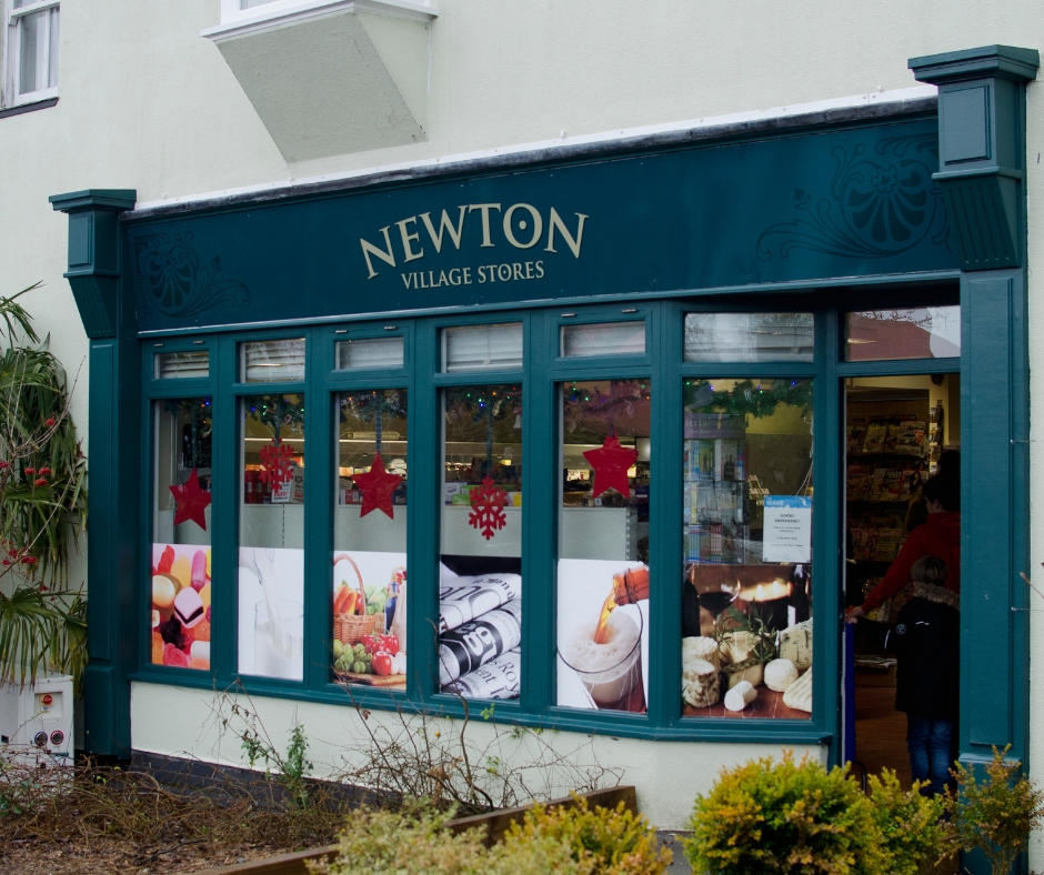 Newton stores Bluestone