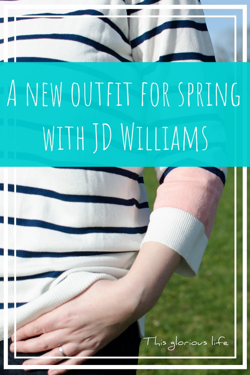 A new outfit for spring with JD Williams