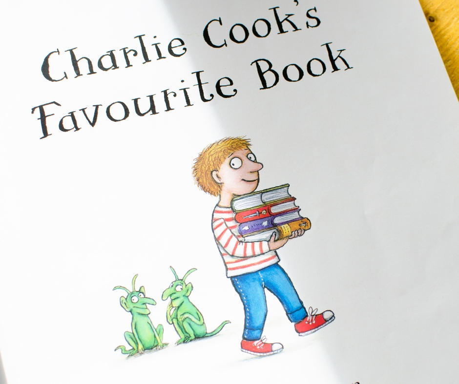 Charlie cook's favourite book world book day