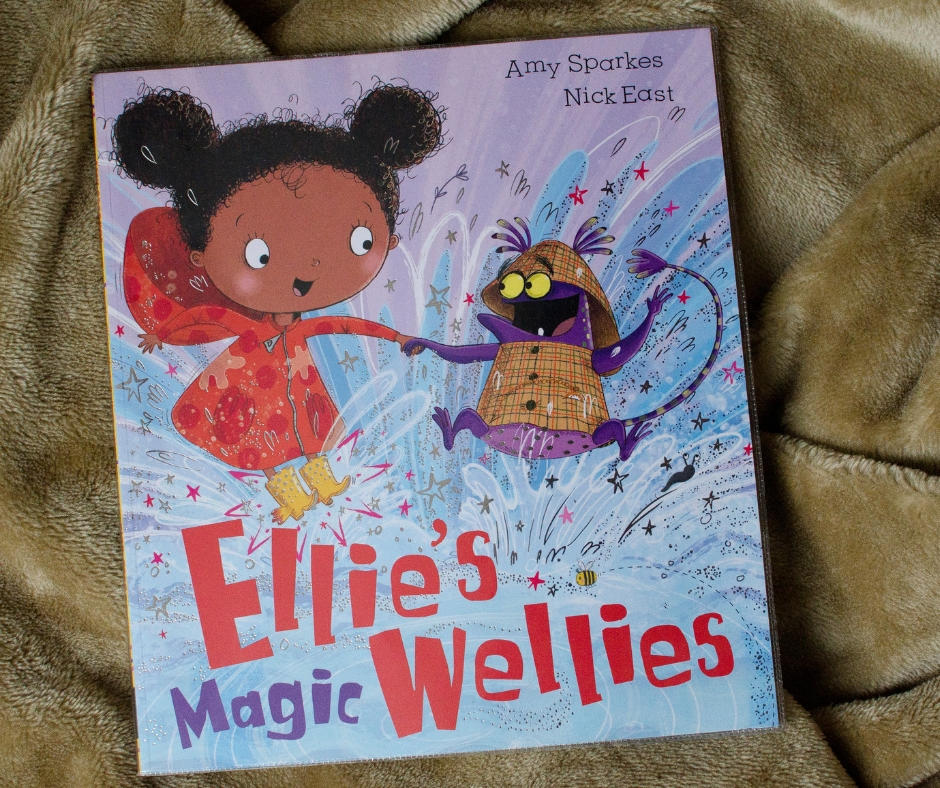 Ellie's magic wellies world book day
