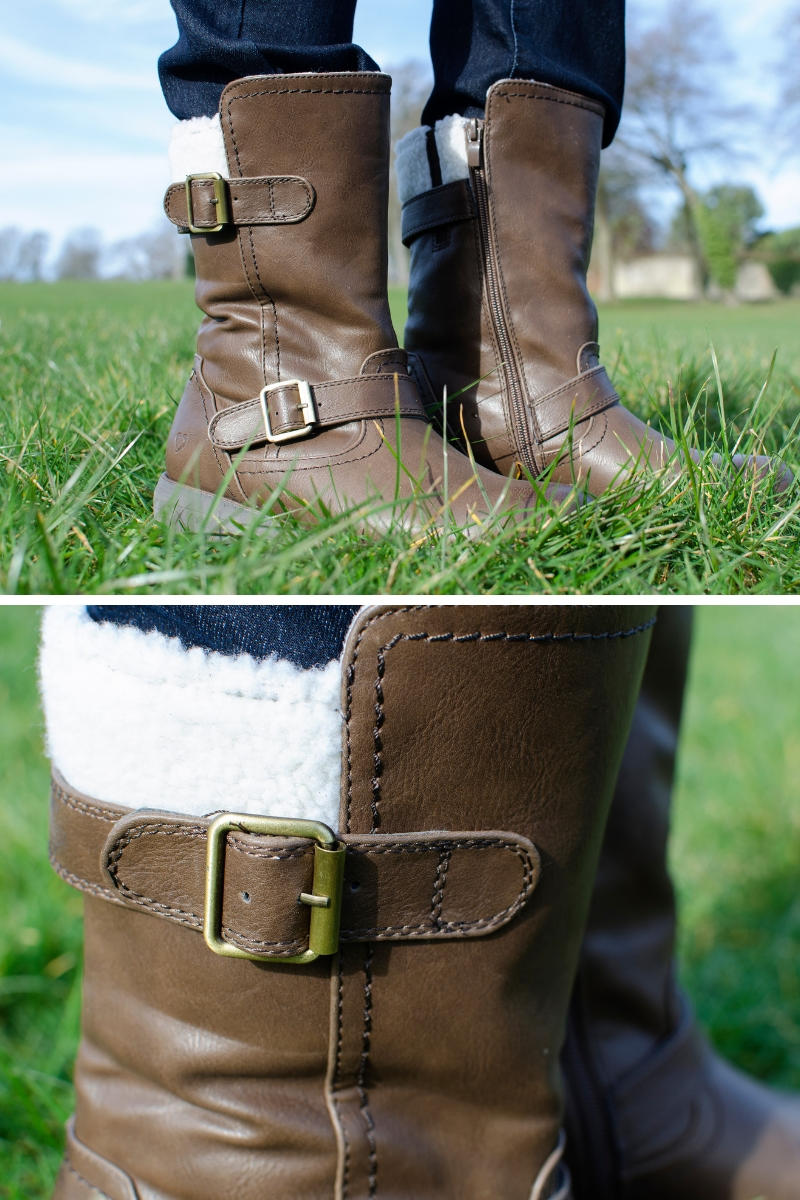 JD Williams heavenly feet boots review