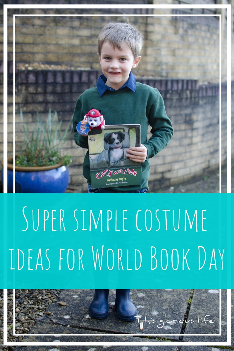 Super simple costume ideas for world book day