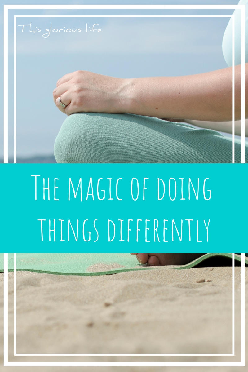 The magic of doing things differently