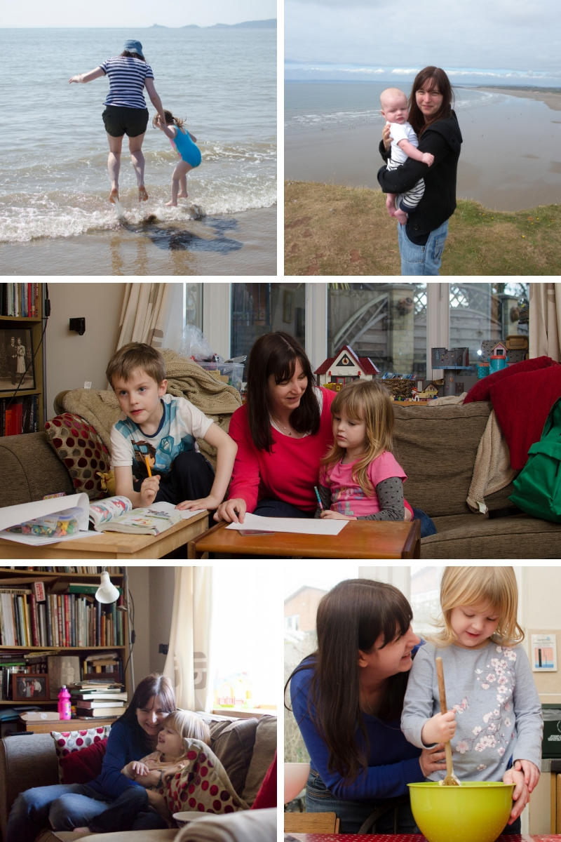 Ideas to get in more photos with your children