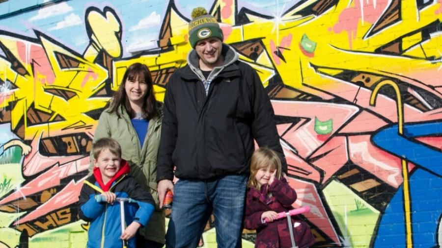 Less stress family photos