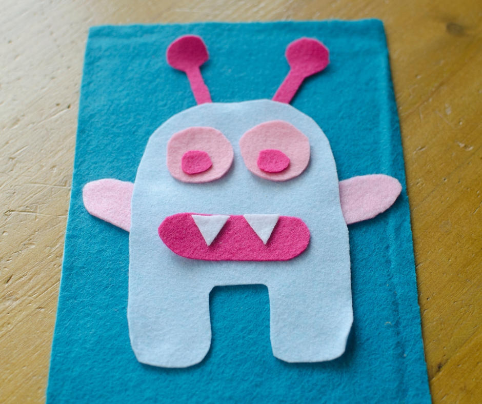 Build a monster busy bag