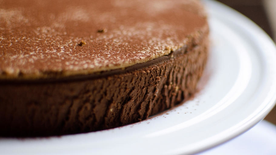Chocolate torte with merlyn