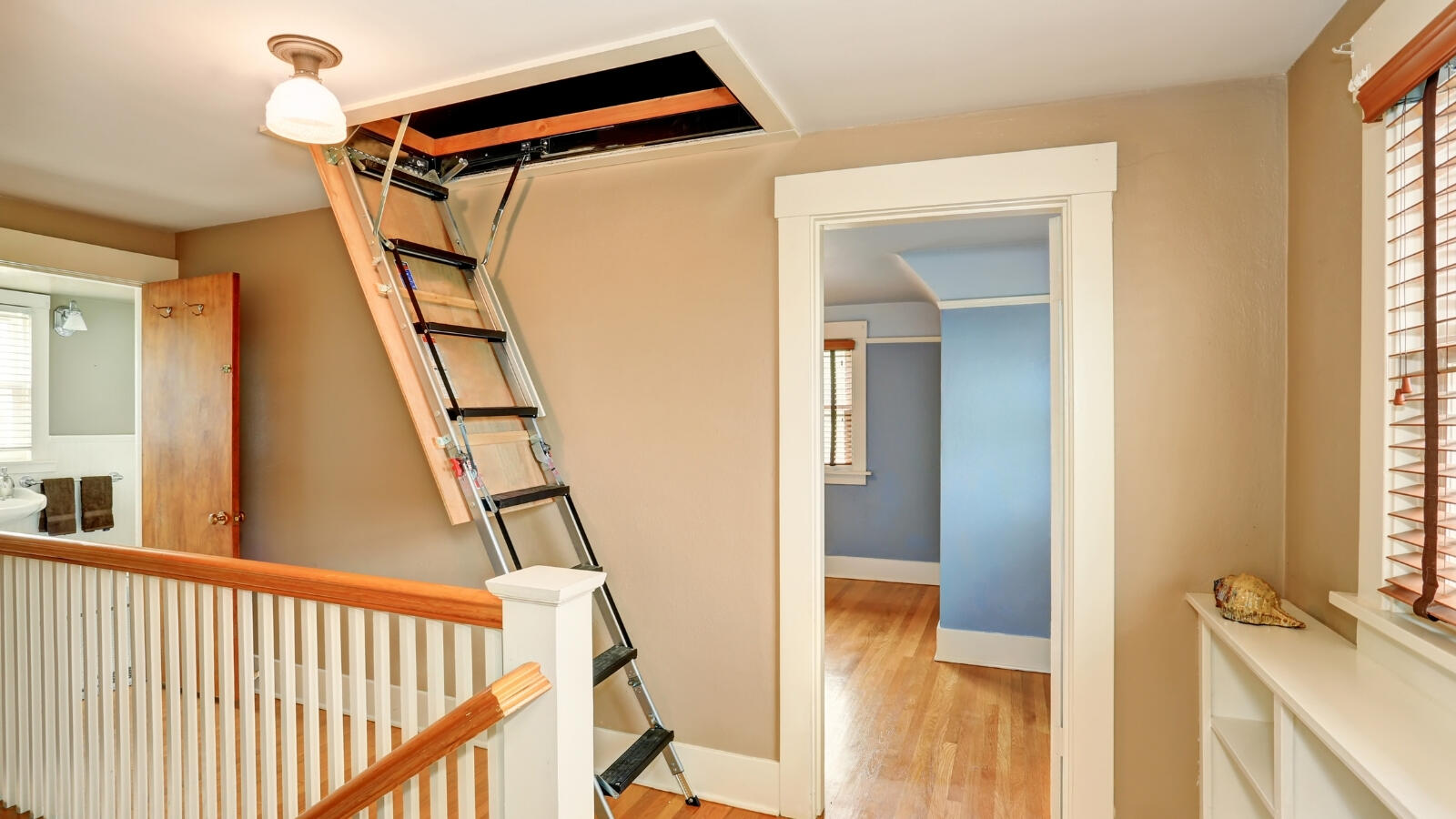Choosing the right loft ladder for your home