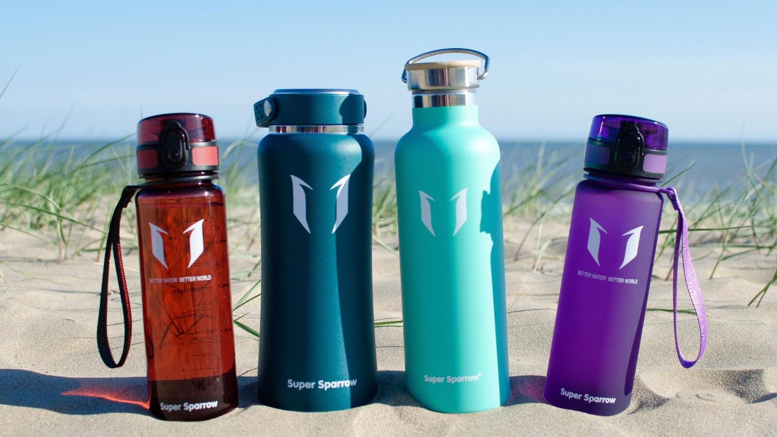 Water bottles Super Sparrow